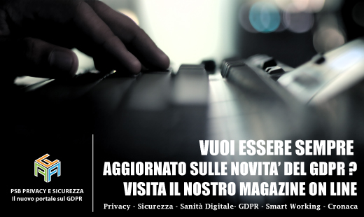 Gdpr privacy e sicurezza