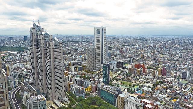 Veduta di Tokyo. Il Giappone ha un accordo con l'UE per il GDPR
