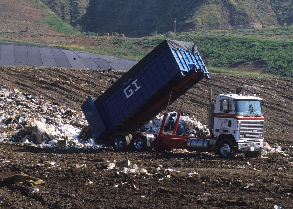 Camion della nettezza urbana